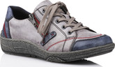 Remonte - GREY/BLUE/RED LACE UP