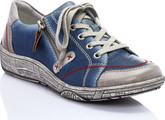 Remonte - LACE UP BLUE/GREY