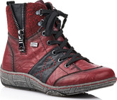 Remonte - RED/BLACK LACE UP BOOT