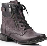 Remonte - DARK GREY LACE UP BOOT