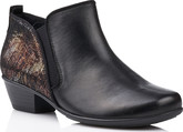 Remonte - BLACK ANKLE BOOT