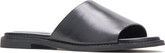 Hush Puppies - LEXI SLIDE BLACK LEATHER - WID