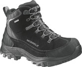 Merrell Norsehund Omega Mid Waterproof Black Boots for Winter Season