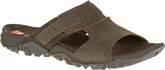 Merrell Casual Telluride Slide Clay Rugged Sandals with Rubber Sole