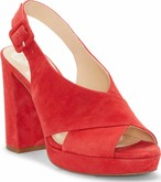 Vince Camuto - JAVASAN GLAMOUR RED TRUE SUEDE