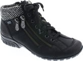 Rieker - BLACK LACE UP BOOT