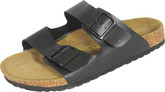 Comfortable 2 Strap Black Sandals by Biofeet