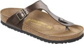 Classic Thong Style Birkenstock Gizeh Toffee Sandals