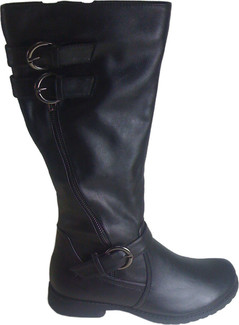 Gorgeous Riding Boots from Vangelo with Faux Leather Upper