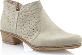 Rieker - GREY PULL ON ANKLE BOOT