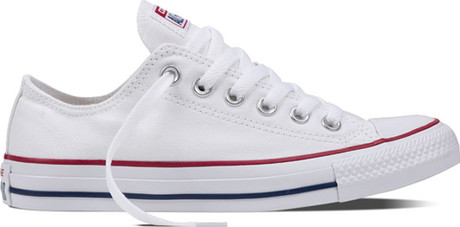 Comfortable Ctas Ox Optic White Sneakers with Vulcanized Rubber Soles