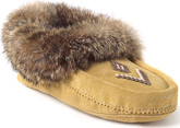 Manitobah Tan Suede Moccasin Shoes