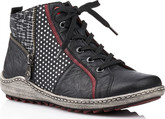 Remonte - BLACK LACE UP BOOT