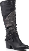 Remonte - BLACK TALL BOOT