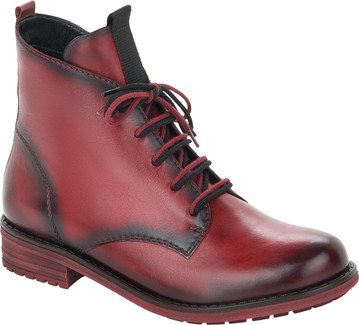 Remonte - RED LACE UP BOOT