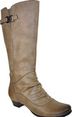 Vangelo - TALL BOOT ON LOW HEEL