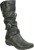 Vangelo - TALL WRAPED BUCKLE BOOT