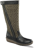 AMBER-BLACK TALL SWEATER BOOT