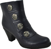 Vangelo - SHORT 4 BUTTON BOOT NAVY