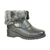 FRONT ZIP FUR LINED BOOT