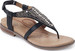 Stylish Black Thong Sandals from Aetrex with Foam Cushioning