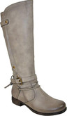 Women's Leather Tall Riding Boots by Vangelo