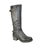 TALL 2 BUCKLE RIDING BOOT