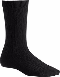 Smartwool - WOMEN'S CABLE II BLACK