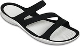 Crocs - SWIFTWATER SANDAL BLACK/WHITE
