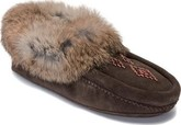 Comfortable Manitobah Mukluks Tipi Beaded Suede Moccasins