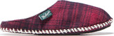 Woolrich - FLEECE MILL SCUFF RED PLAID