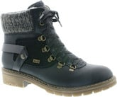 Rieker - BLACK LACE UP HIKER
