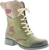 Rieker - FELT TOP GREENLACE UP BOOT