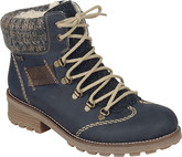 Rieker - BLUE LACE UP HIKER