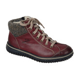 Rieker - WINE LACE UP BOOT