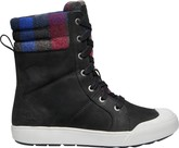 KEEN - ELENA BOOT BLACK PLAID