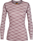 Ice Breaker - WOMENS 200 OASIS LS CREWE CURV