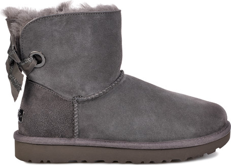Ugg - CUSTOM BAILEY BOW CHARCOAL