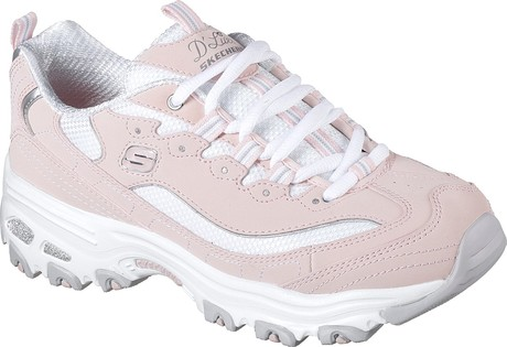Skechers - D'LITES BIGGEST FAN LIGHT PINK