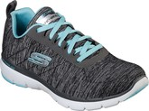 Skechers - FLEX APPEAL 3.0 GREY/LIGHT BLU