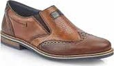 Rieker - TAN BROGUE SLIP ON
