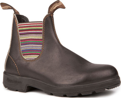 Blundstone - 1409 STOUT BROWN STRIPED ELASTIC