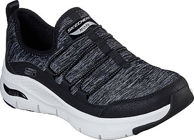 Skechers - ARCH FIT RAINBOW VIEW BLACK & WHITE