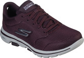 Skechers - GO WALK 5 BURGUNDY