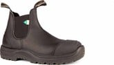 Blundstone - 168 BLACK STEEL W/ RUBBER TOE