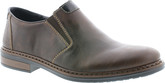 Rieker - BROWN DOUBLE GORE SLIP ON CASU