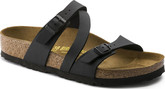 Birkenstock - SALINA BLACK BIRKOFLOR NORMAL