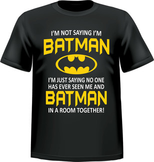 Woods Clothing Co. - T-SHIRT BATMAN