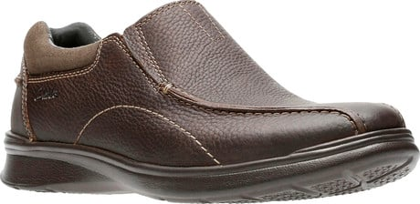 Clarks - COTRELL STEP BROWN