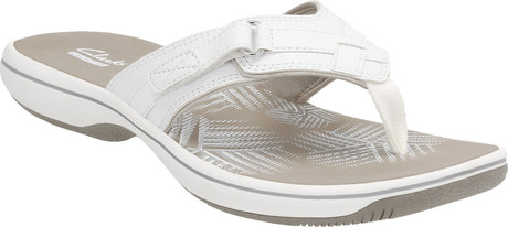 Clarks - BREEZE SEA WHITE